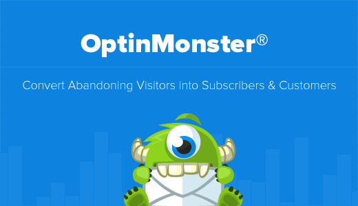 OptinMonster Home page optinmonster giveaway