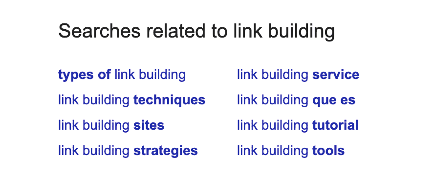 Search related to section long-tail keywords