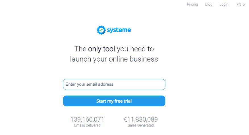 Syst7 systeme.io review