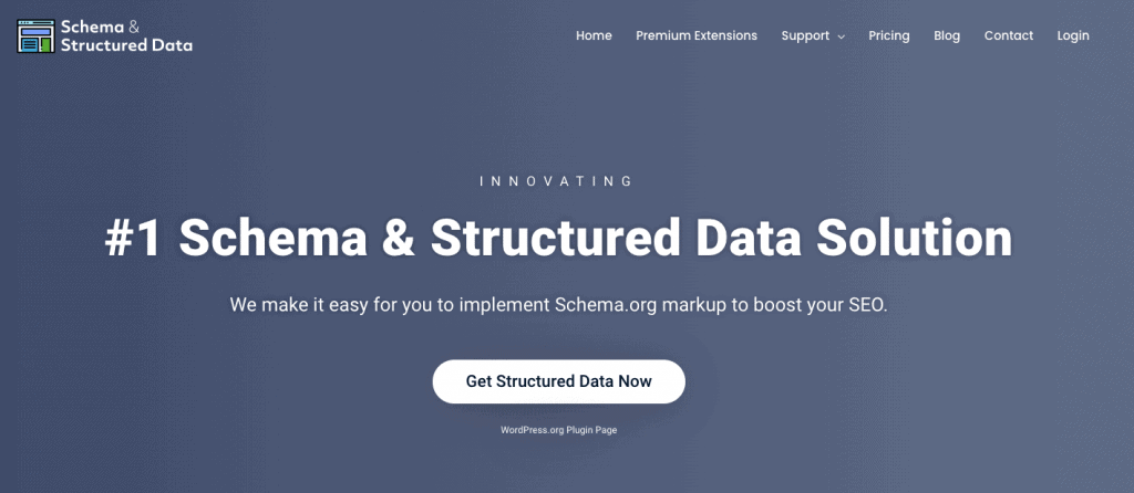 Schema Structured Data Plugin schema markup plugins
