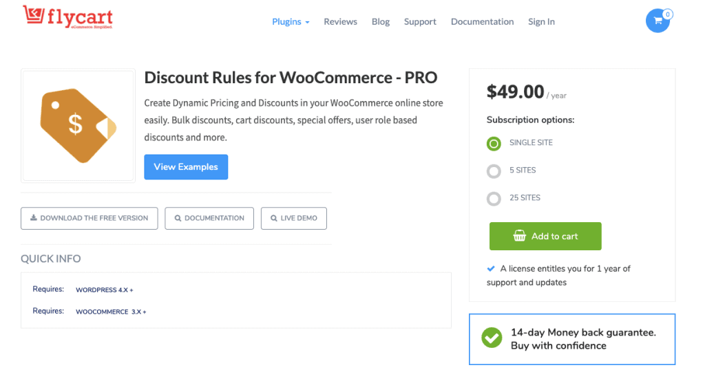 Discount Rules By FlyCart WooCommerce Coupon Plugin