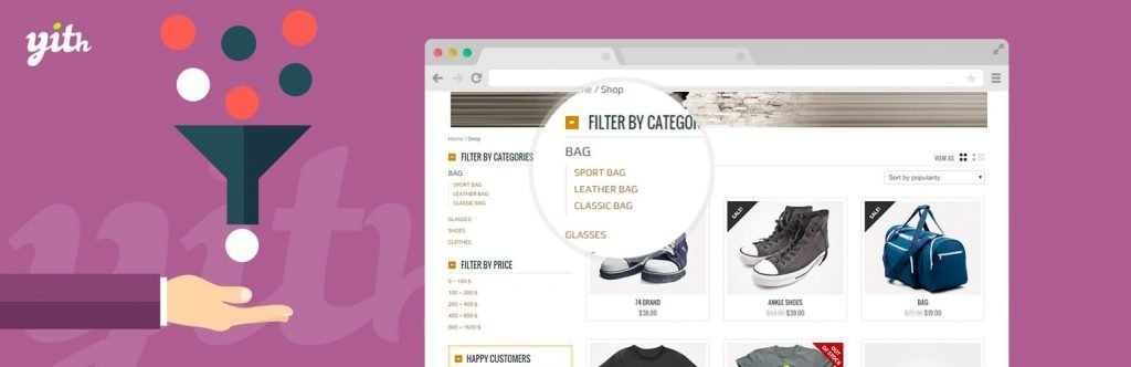 Yith Product Filter Plugin woocommerce product filter plugins