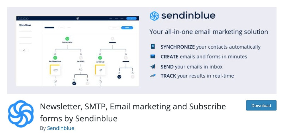 SMTP By Sendinblue WordPress SMTP Plugin