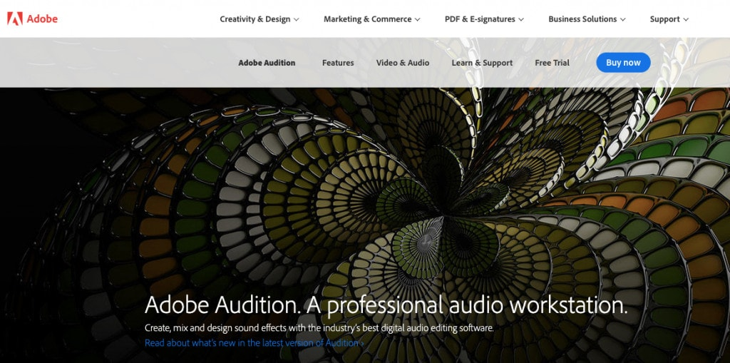 Adobe Audition Software Best Podcast Editing Software