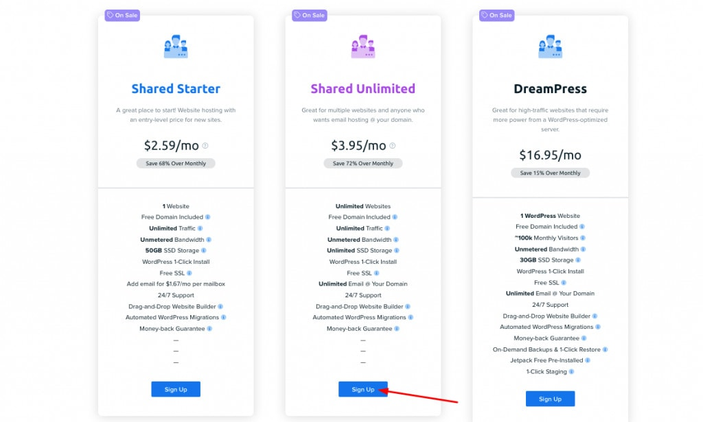 DreamHost discounted pricing dreamhost coupon
