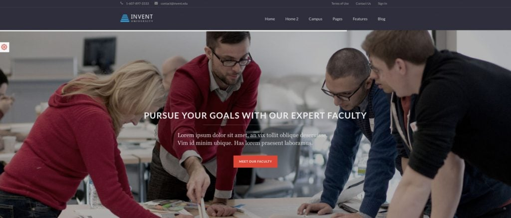 Invent Learndash Theme By LiveMesh best learndash themes
