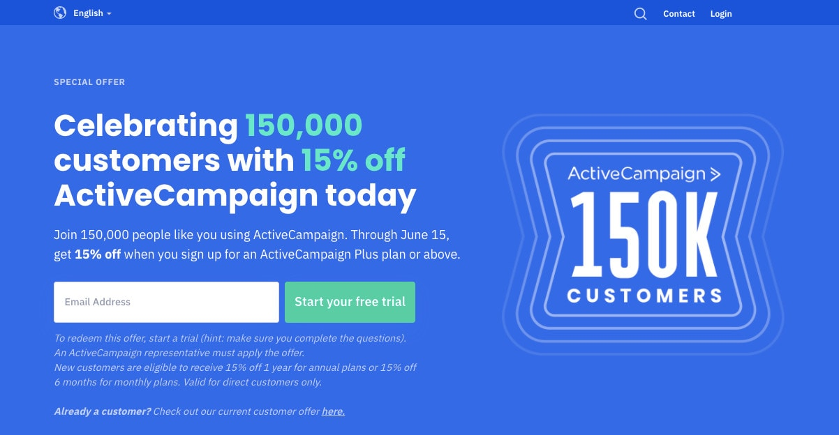 ActiveCampaign Cheapest Email Marketing Service