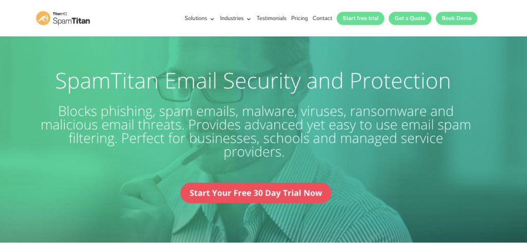 Spam Titan 1 email management tool