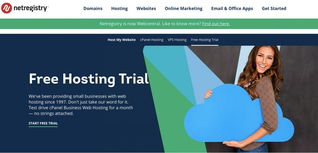 NetRegistery Free Trial